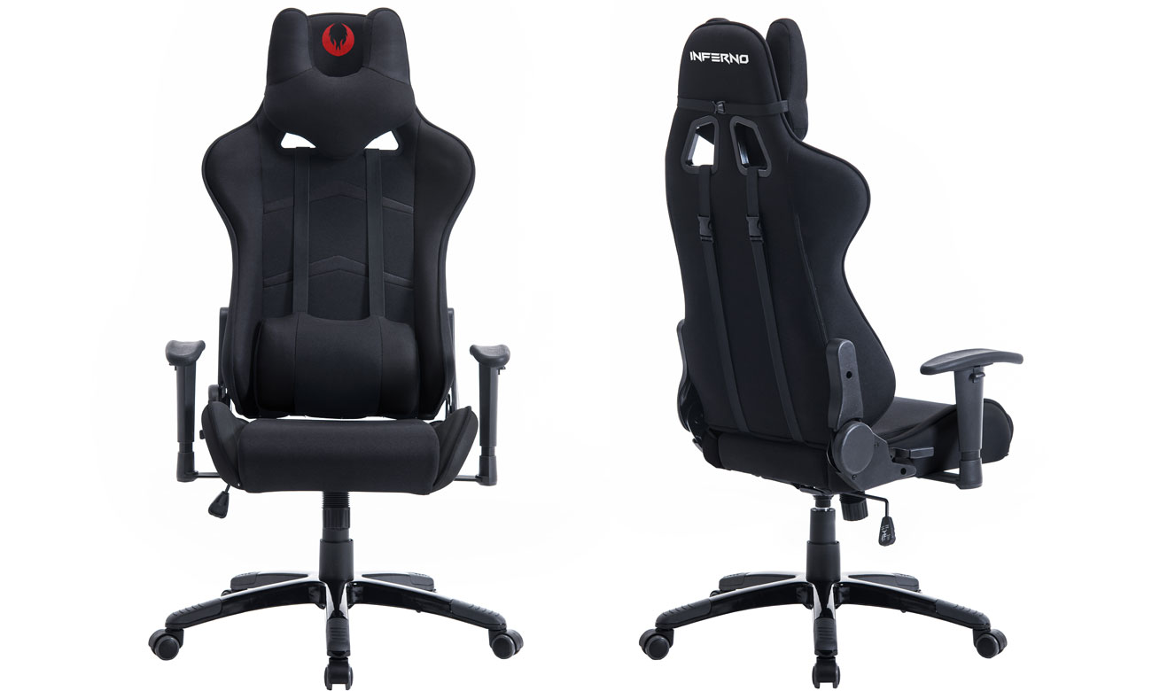 Inferno Titan Gaming Chair czarny