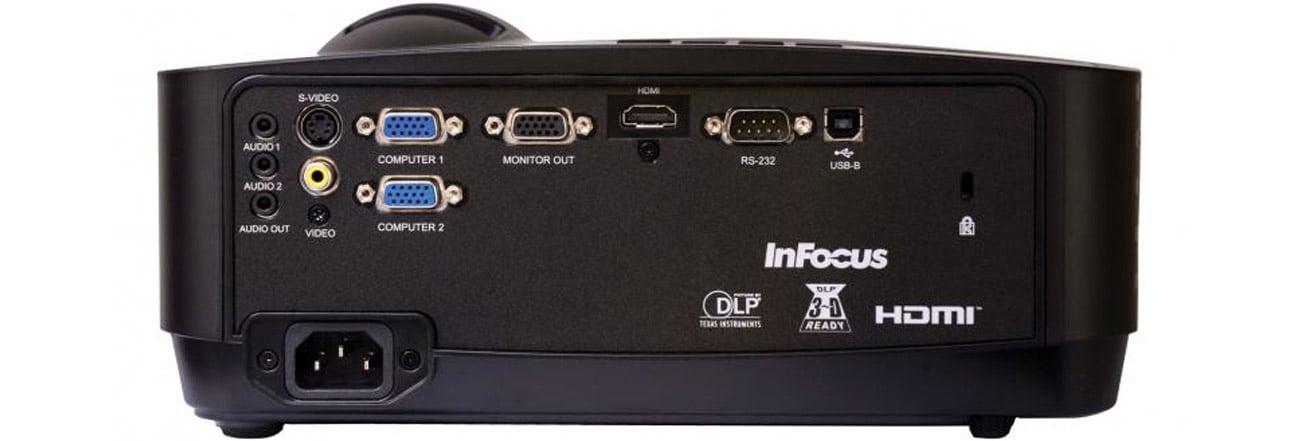 InFocus IN116x DLP kompaktowy projektor