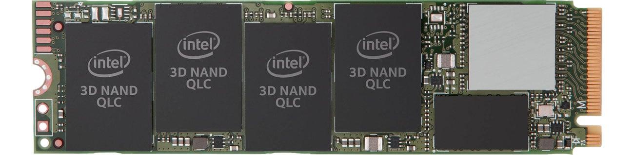 Dysk SSD Intel 512GB M.2 PCIe Gen3 x4 NVMe 2280 660p Series SSDPEKNW512G8X1