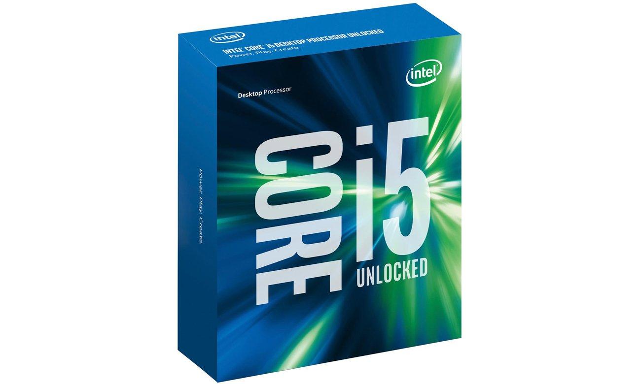Intel Core i5-6600K Opakowanie