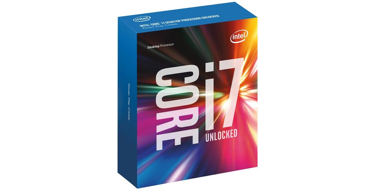 Intel Core i7-6700K Opakowanie