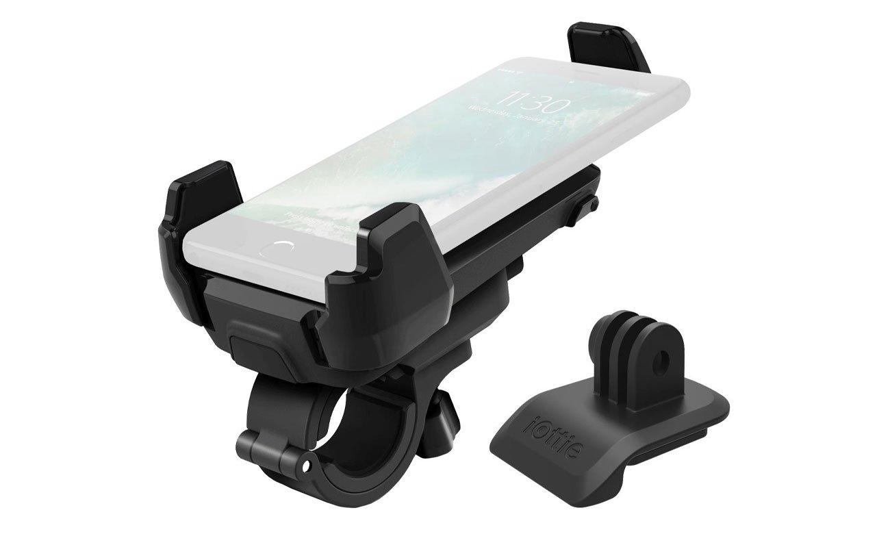 Uchwyt rowerowy iOttie Active Edge + GoPro adapter