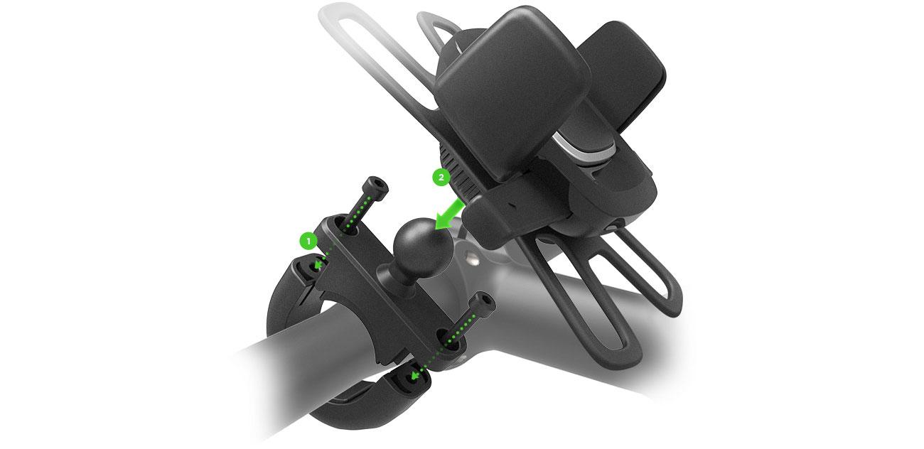 iOttie Easy One Touch 4 Bike Mount Instalacja