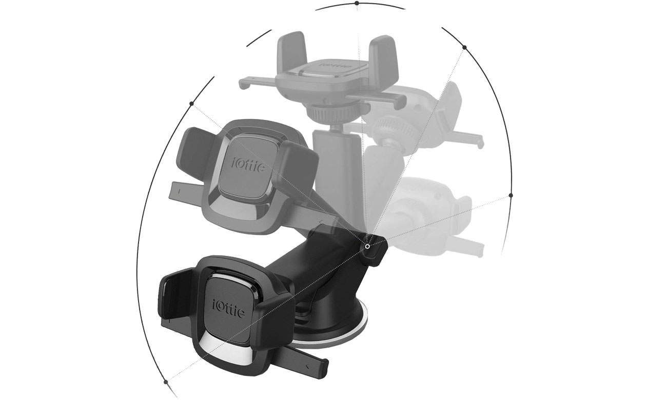 iOttie Easy One Touch 4 Mini Dash Windshield Mount Regulacja