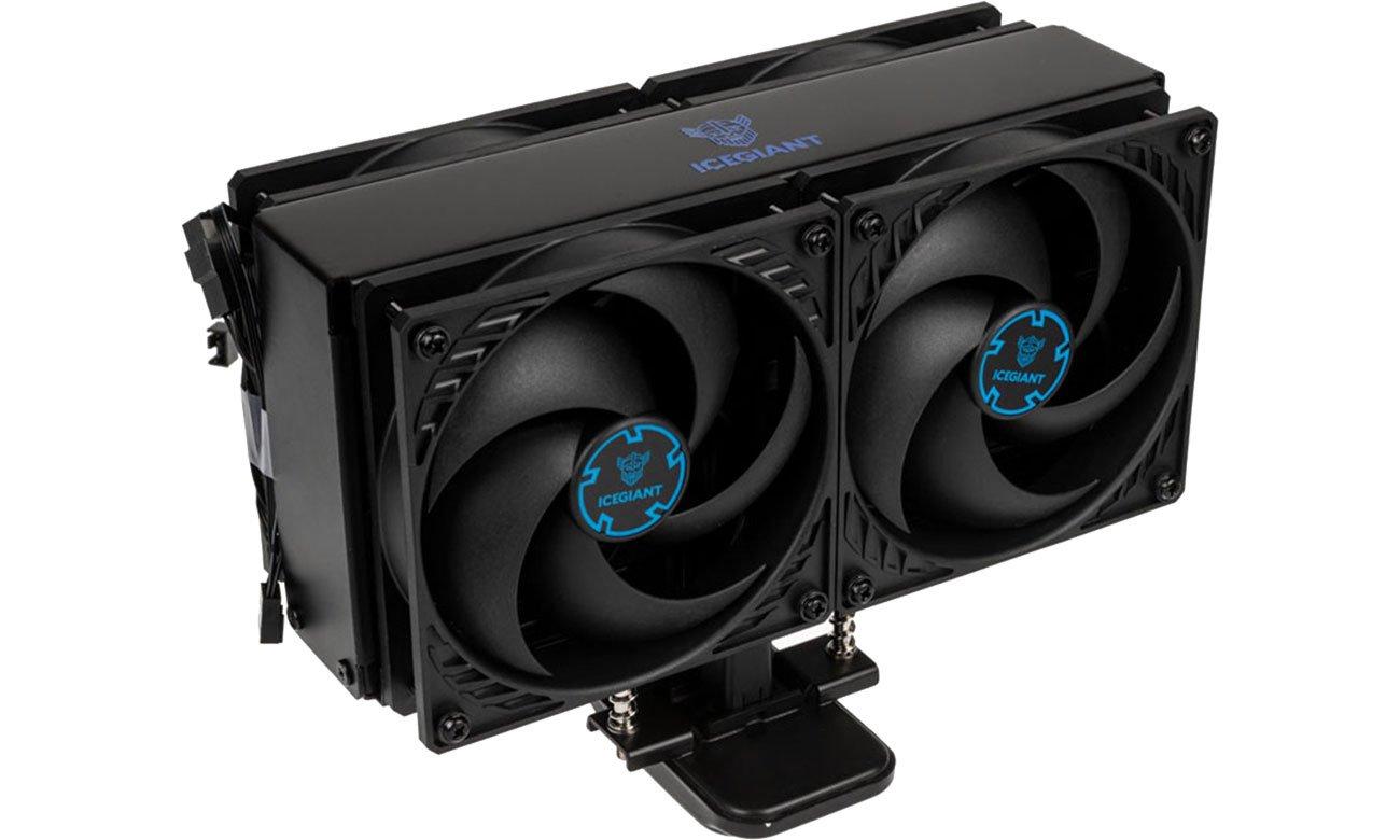 IceGiant ProSiphon Elite 4x120mm PE-240-BLA