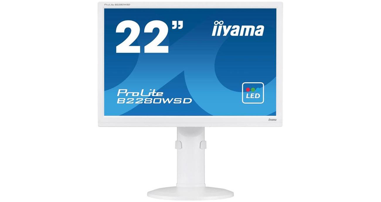 Monitor LCD/LED 22 iiyama B2280WSD biały B2280WSD-W1