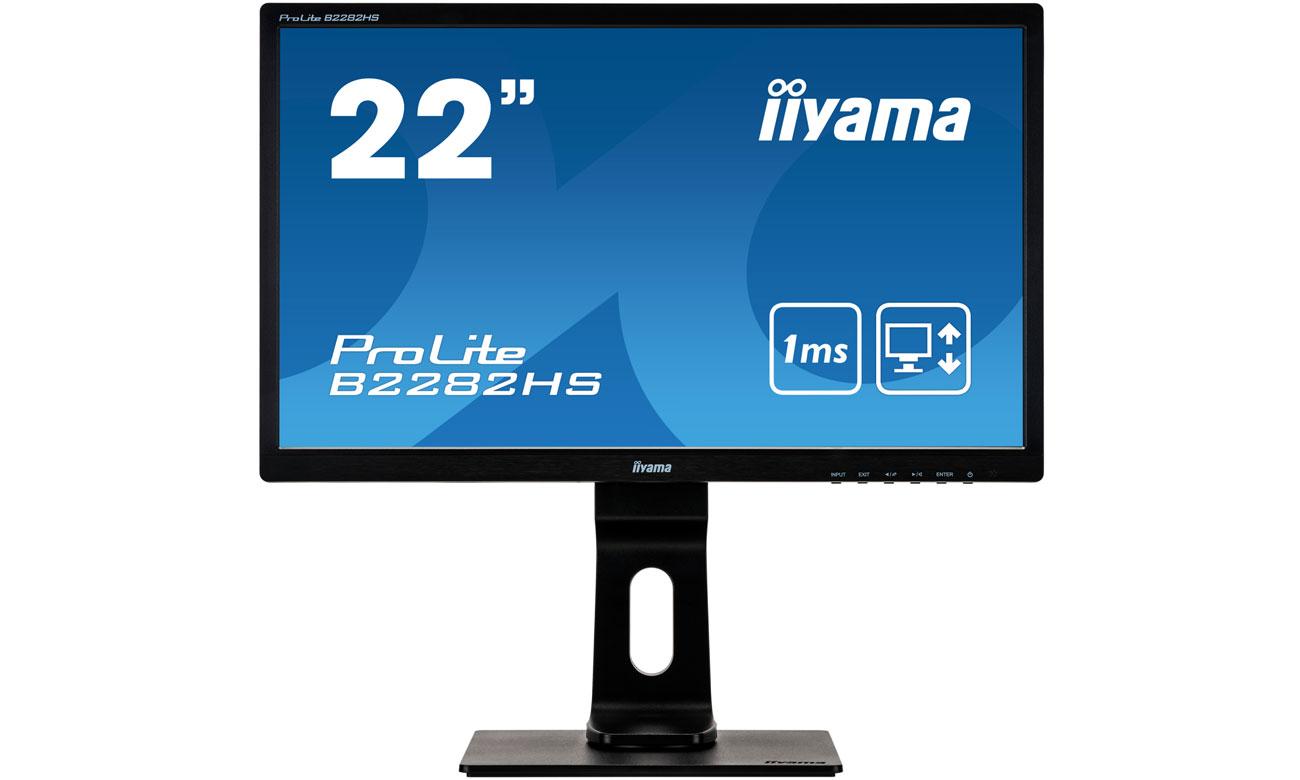 iiyama B2282HS-B1 Rozdzielczość Full HD
