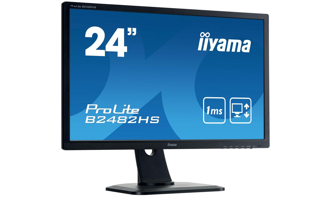 iiyama B2482HS-B1 Rozdzielczość Full HD