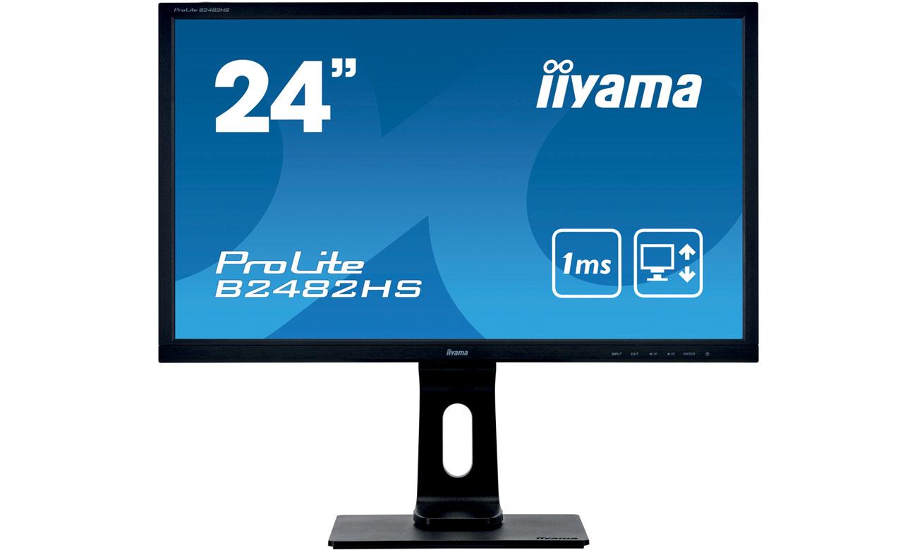 Wszechstronny monitor do domu i biura iiyama B2482HS-B5
