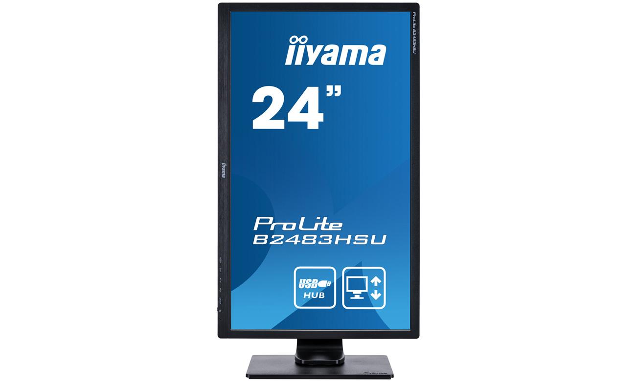 iiyama B2483HSU HAS + PIVOT