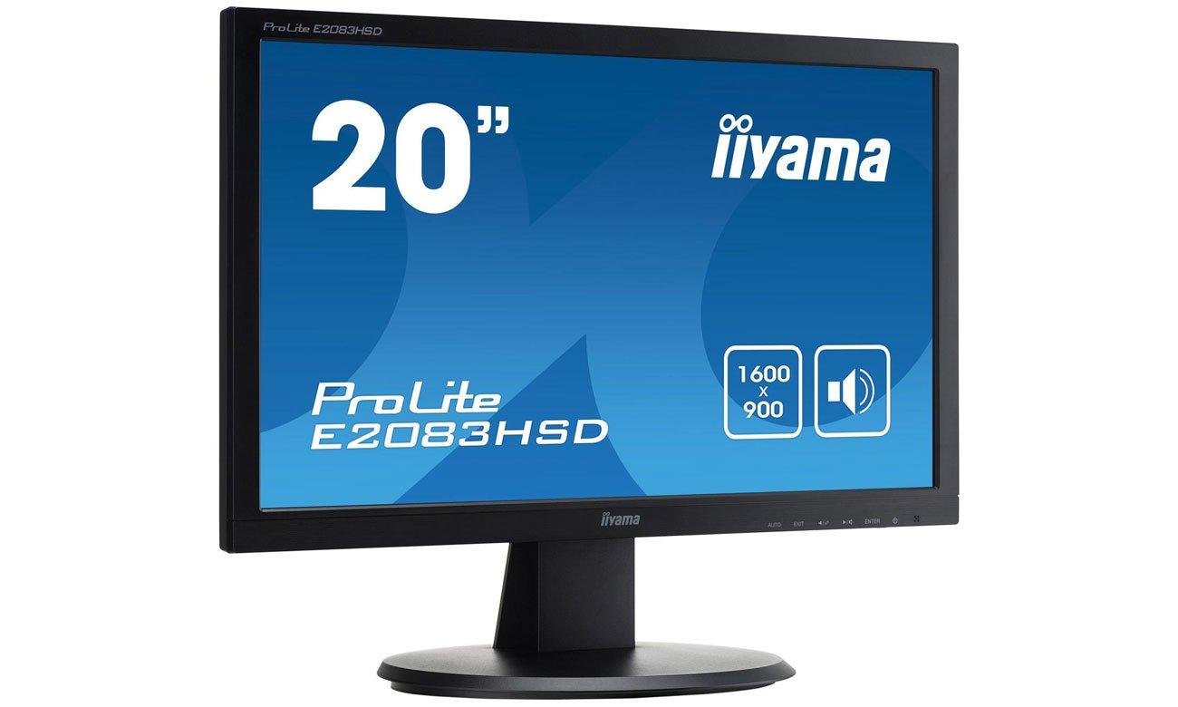 iiyama E2083HSD dla domu i biura