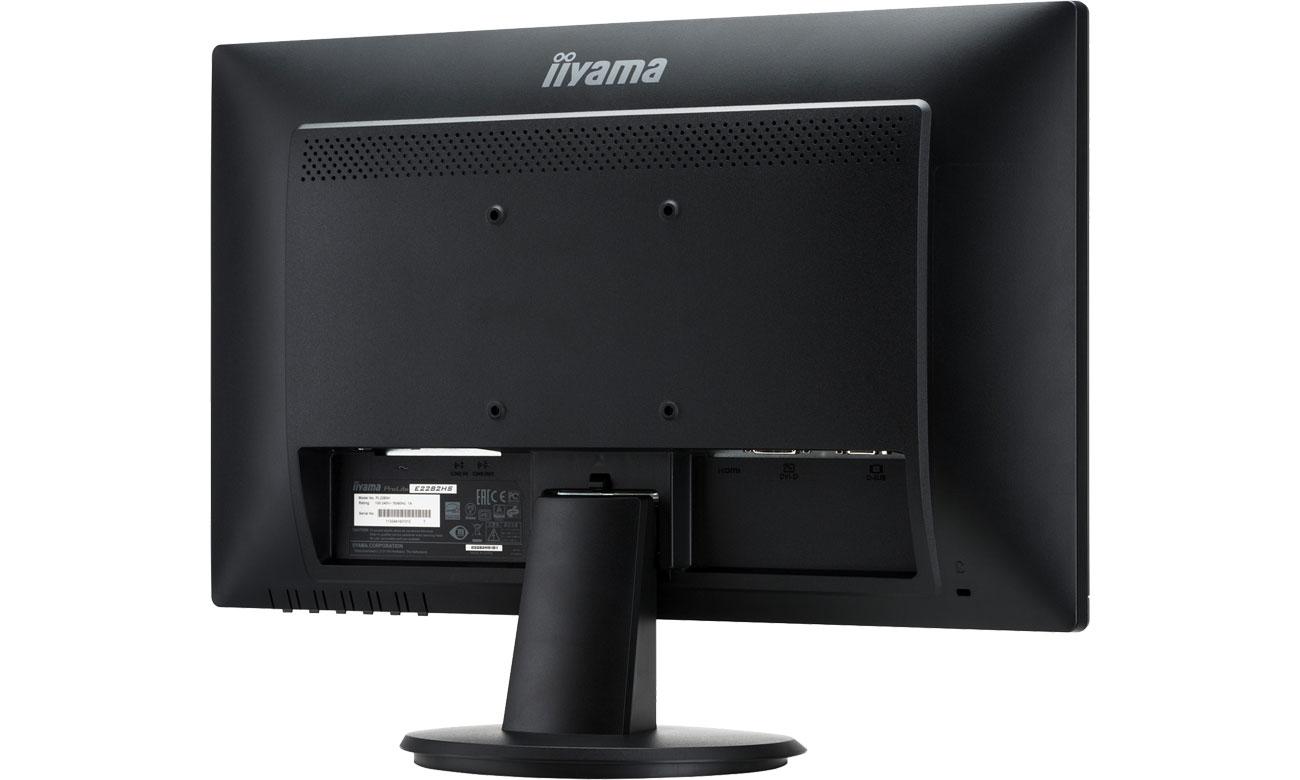 iiyama E2282HS - Widok z tyłu