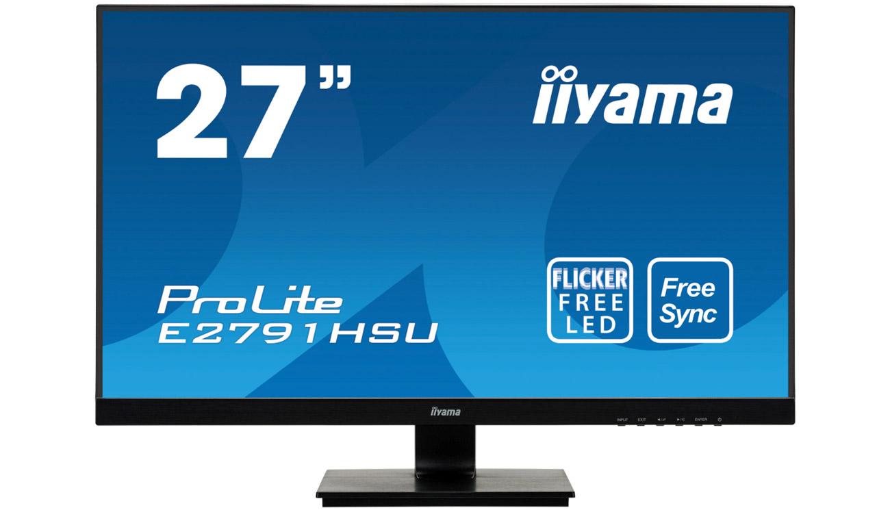 Monitor do domu i biura iiyama E2791HSU-B1