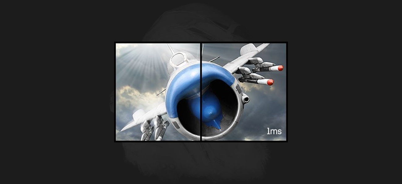iiyama G-Master G2530HSU Black Hawk Czas Reakcji