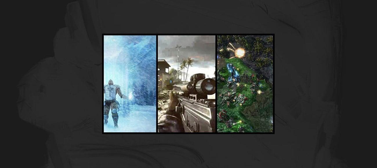 Predefiniowane i niestandardowe tryby gier