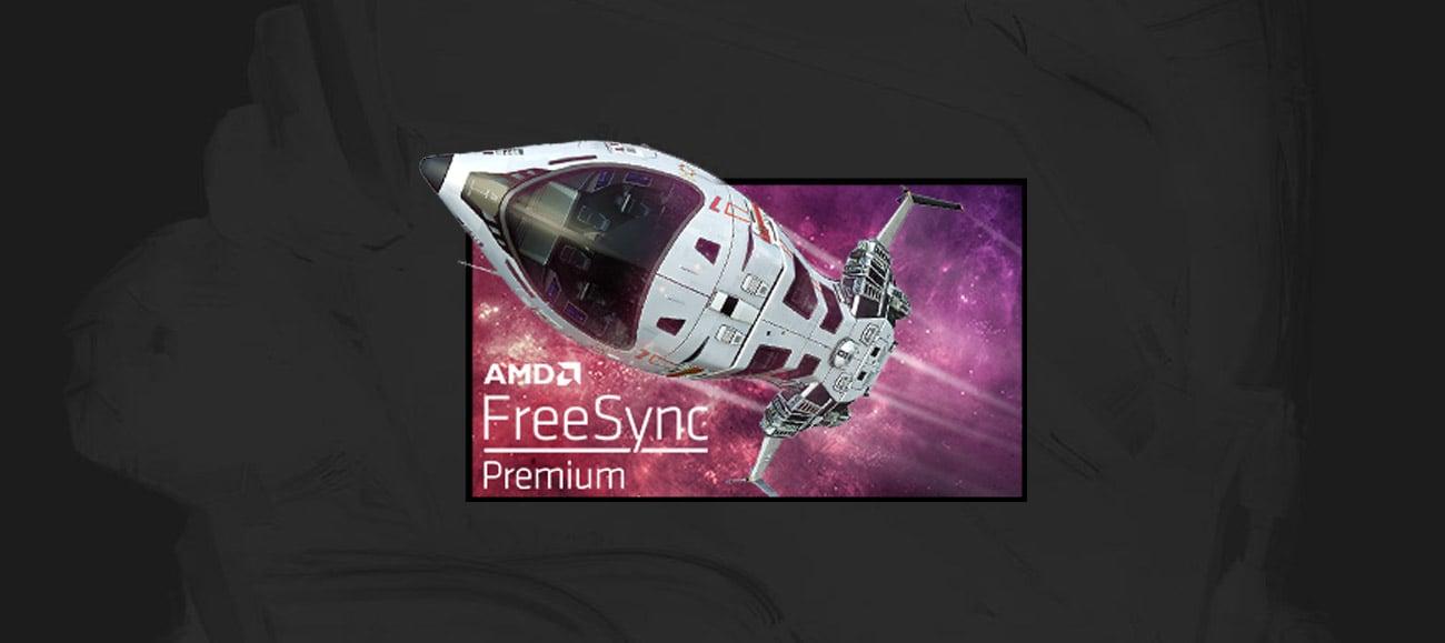 Technologia AMD FreeSync™ Premium
