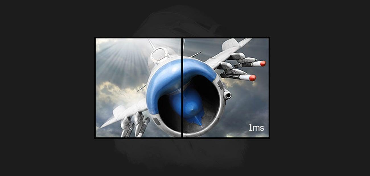 Der Monitor mit Reaktionszeit von 1ms IIYAMA G Master GB2730HSU B1 Black Hawk 68,6 cm 27 Zoll TFT