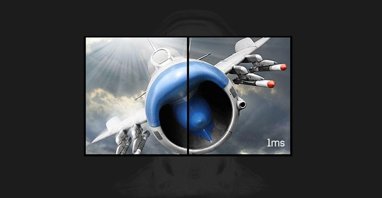 iiyama G-Master GB2783QSU Silver Crow Czas Reakcji