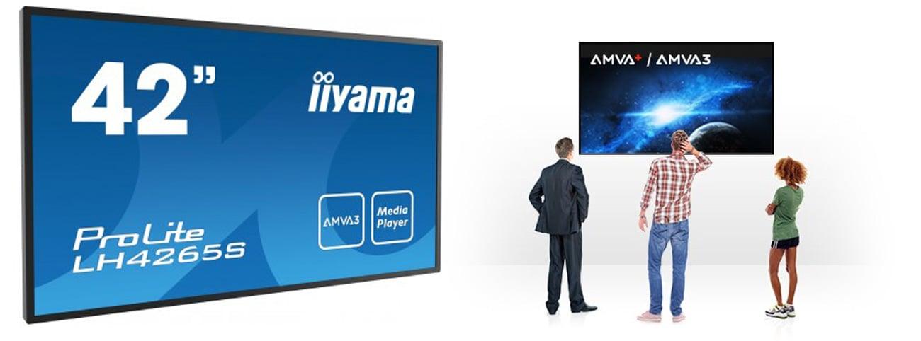 iiyama LH4265S LFD AMVA3