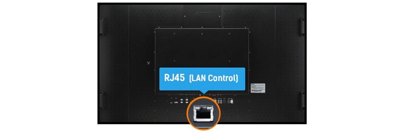 iiyama LH4265S LFD Sterowanie LAN