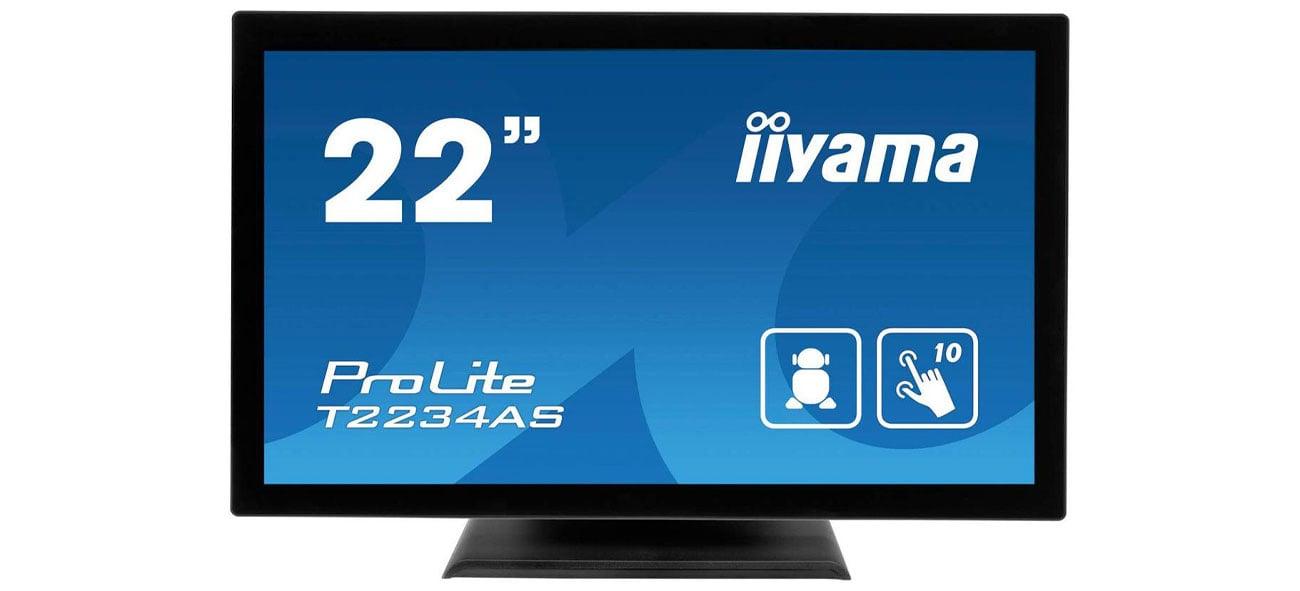Monitor 21.5'' iiyama T2234AS-B1 dotykowy