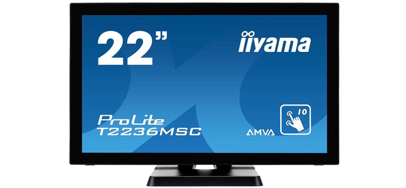 Monitor LCD/LED 22 iiyama T2236MSC dotykowy czarny iiyama T2236MSC