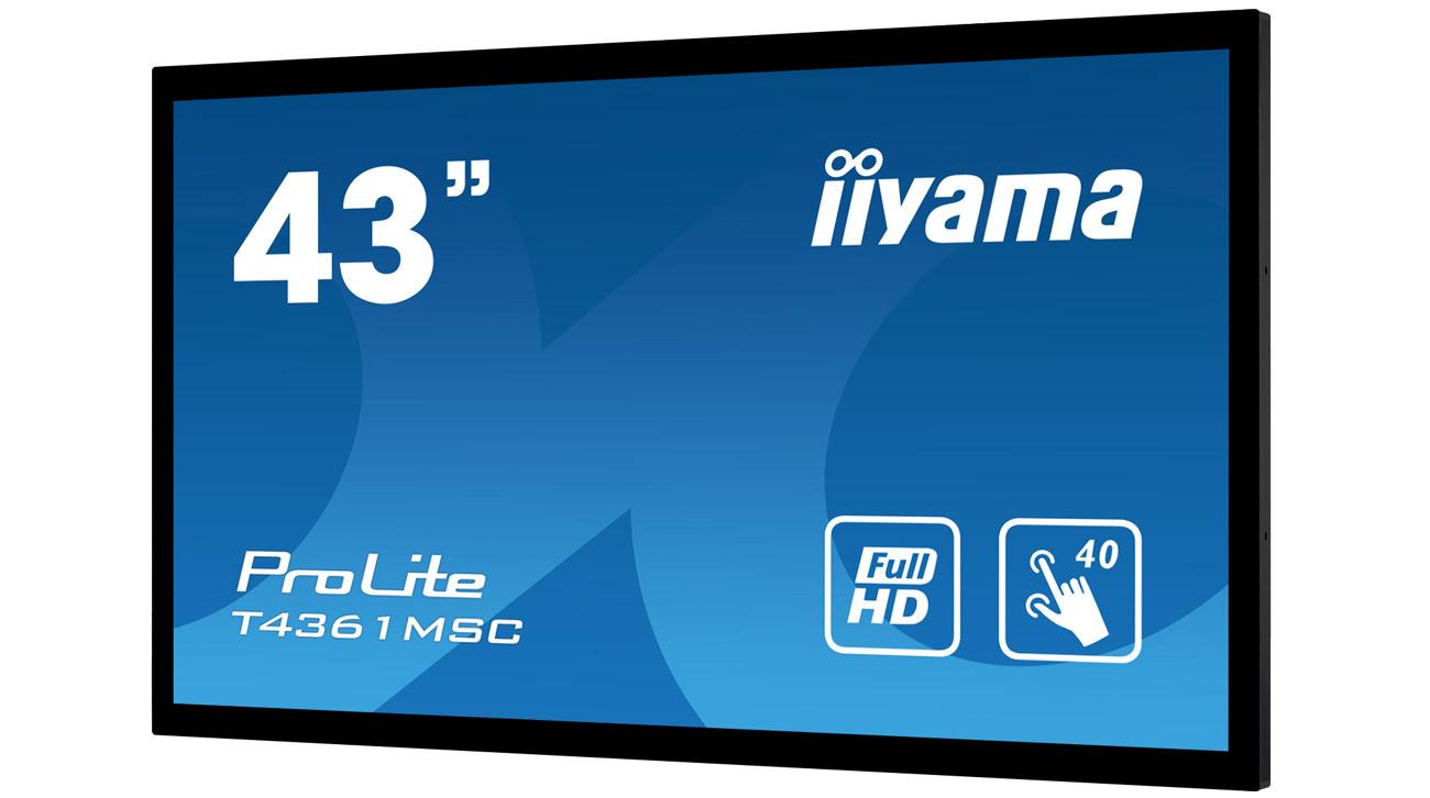 Monitor dotykowy iiyama T4361MSC-B1