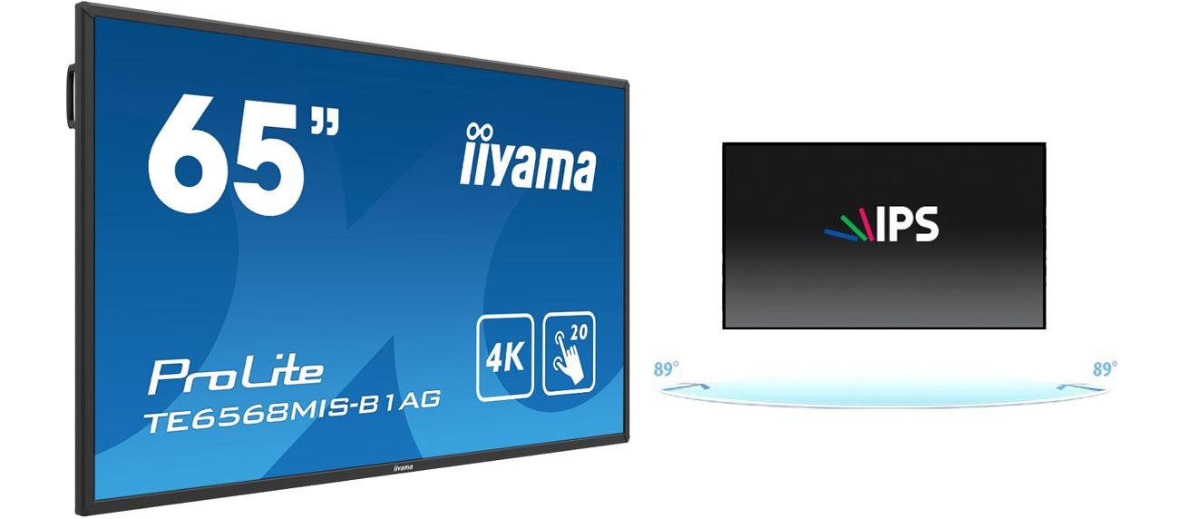 iiyama TE6568MIS Matryca IPS 4K UHD