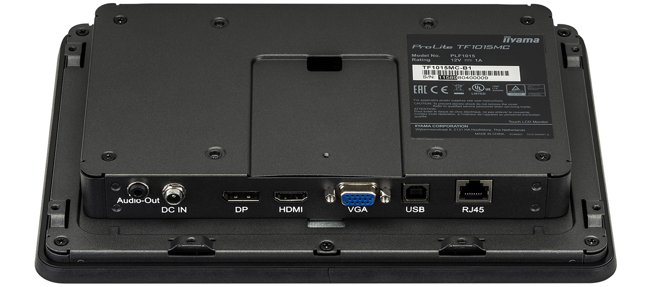 Monitor dotykowy iiyama TF1015MC-B2 open frame