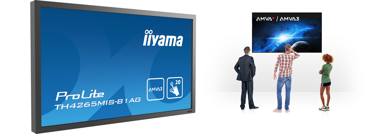 iiyama TH4265MIS Matryca AMVA3