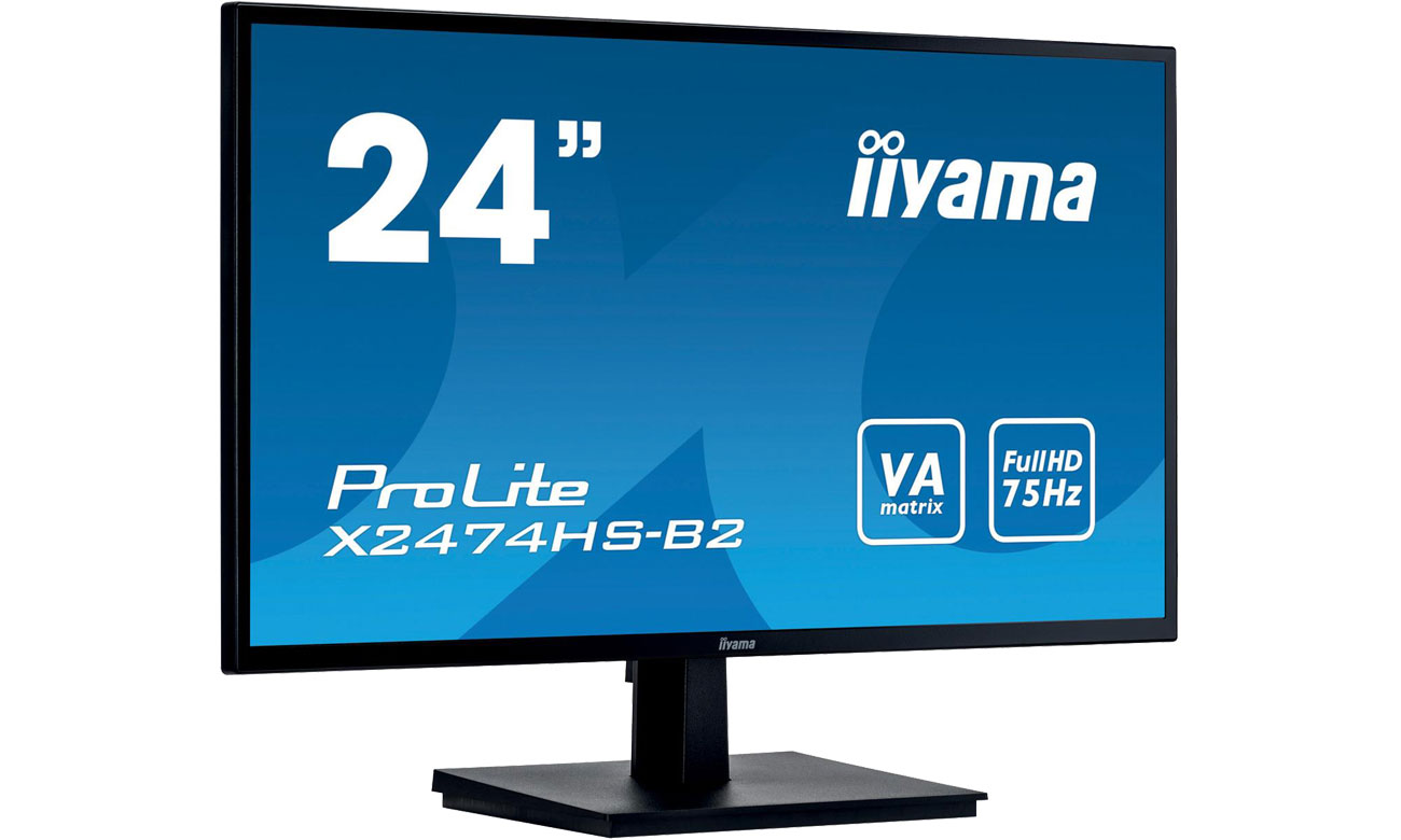 iiyama X2474HS - Ekran