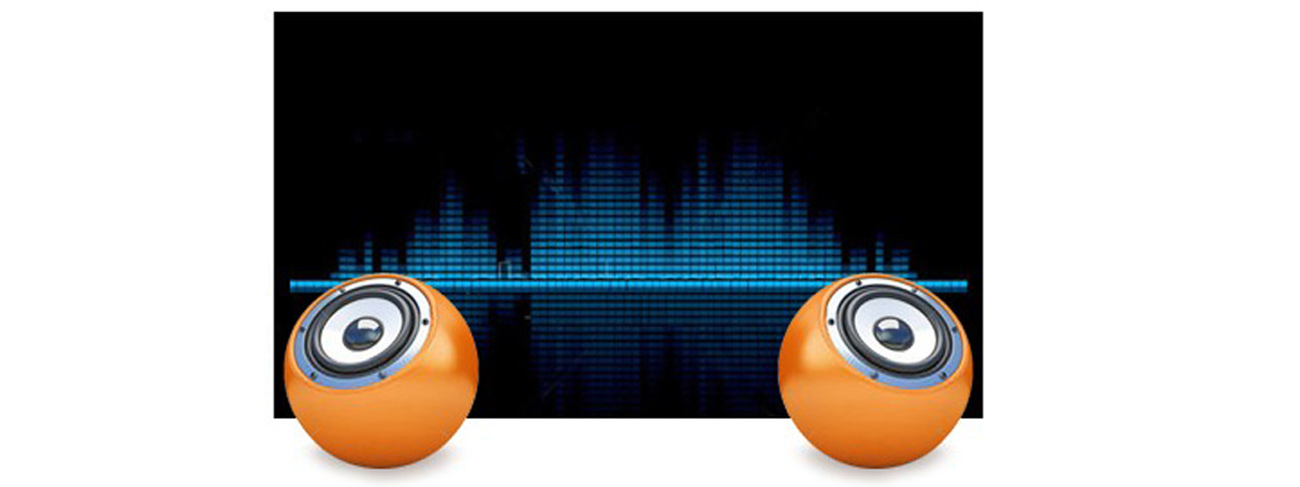 wbudowane głośniki stereo w iiyama X2481HS