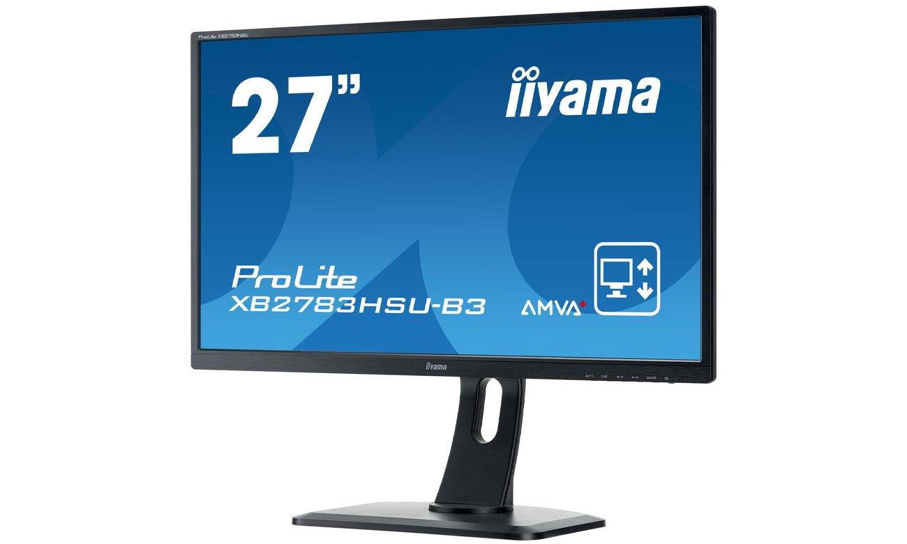 iiyama XB2783HSU-B3 Technologia AMVA