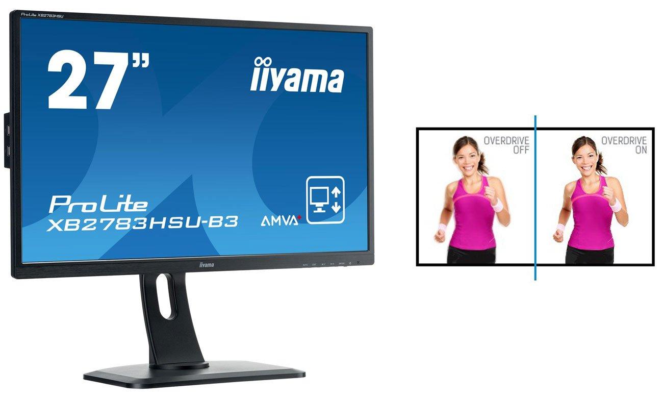 iiyama XB2783HSU-B3 Funkcja Overdrive