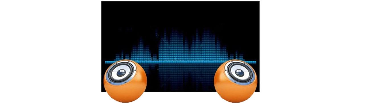 wbudowane głośniki stereo w iiyama XU2390HS czarny
