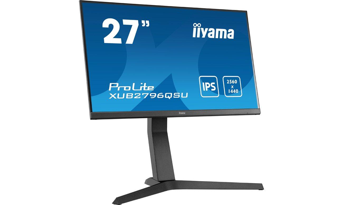 Wsparcie biznesu z monitorem iiyama XUB2796QSU-B1