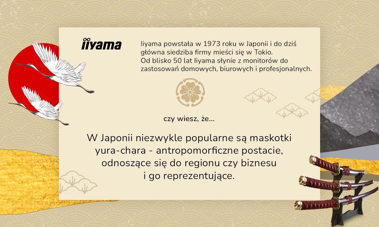 iiyama – ciekawostki na temat Japonii