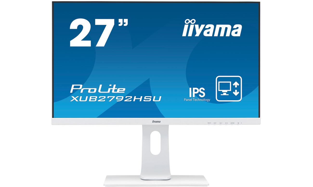 Monitor do domu i biura iiyama XUB2792HSU-W1