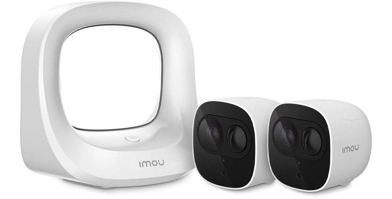 Kamera IP Imou CELL PRO 1080 FullHD LED IR (2szt.+stacja bazowa) Kit-WA1001-300/2-B26E-Imou