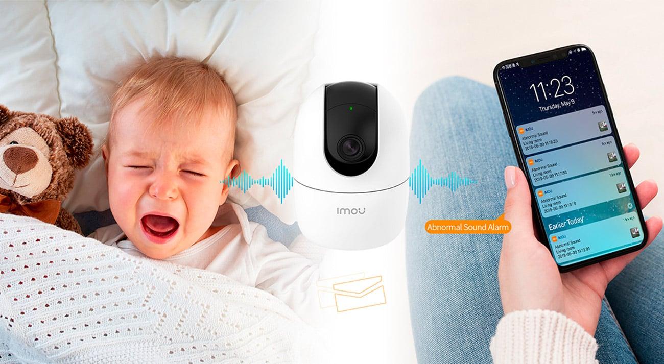 Alarm o niepokojących dźwiękach