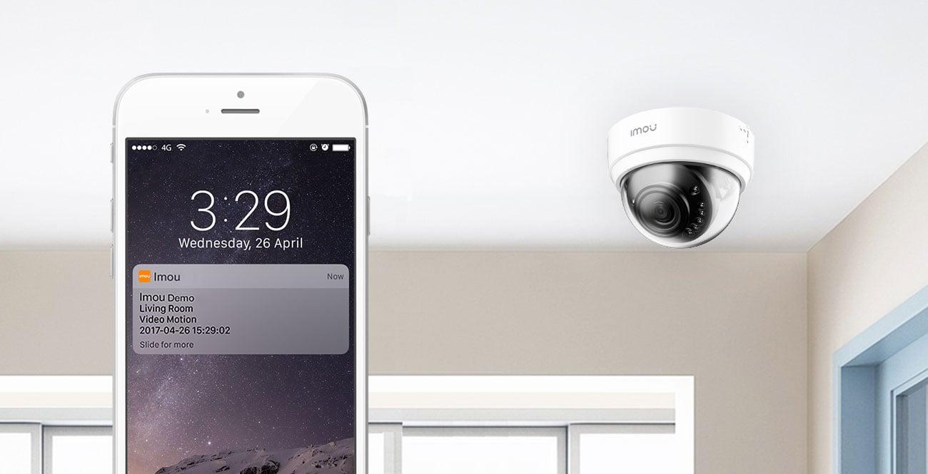Kamera IP Imou Dome Lite 4MP 4Mpx LED IR (dzień/noc) zewnętrzna IPC-D42-Imou