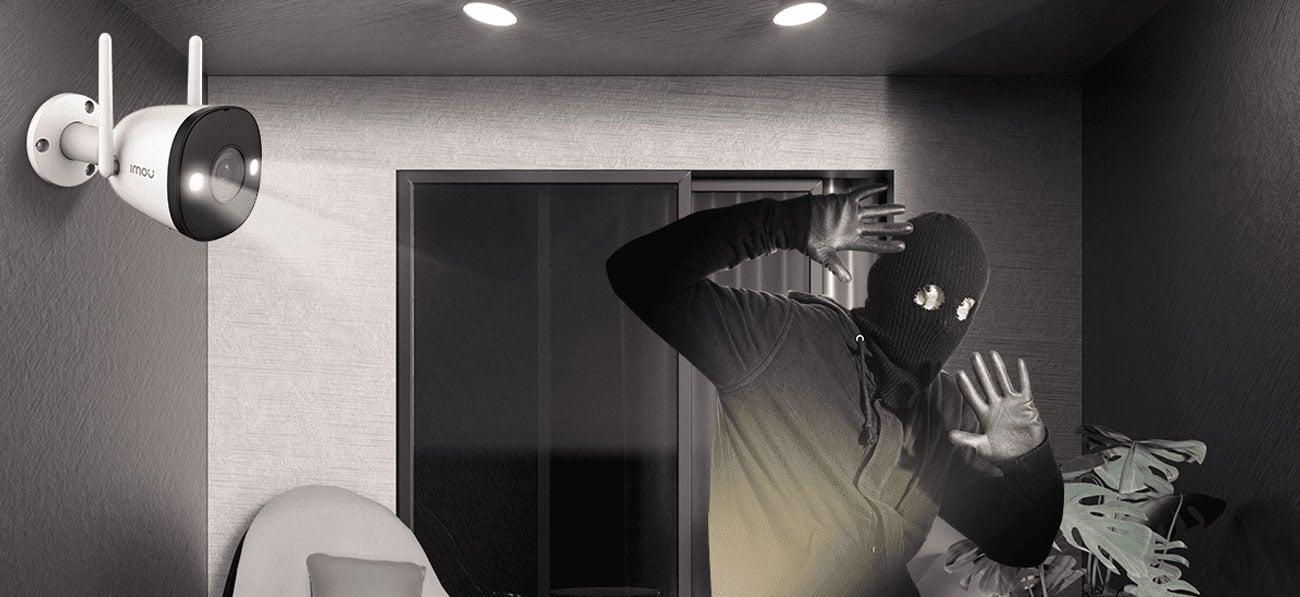 Imou Bullet 2 - Tryb nocny