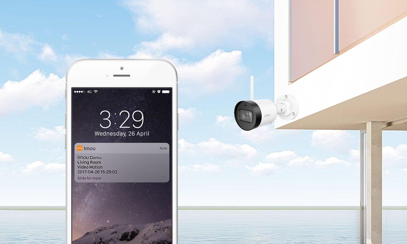 Kamera IP Imou Bullet Lite FullHD LED IR (dzień/noc) zewnętrzna IPC-G22-IMOU