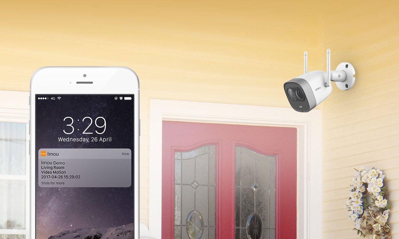 Kamera IP Imou Bullet FullHD LED IR (dzień/noc) zewnętrzna IPC-G26E-Imou