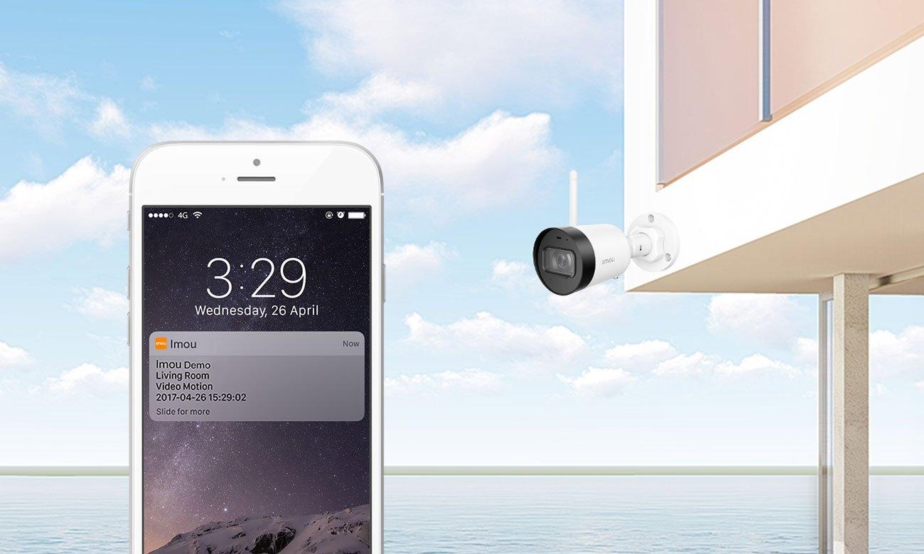 Kamera IP Imou Bullet Lite 4MP 4Mpx LED IR (dzień/noc) zewnętrzna IPC-G42-Imou