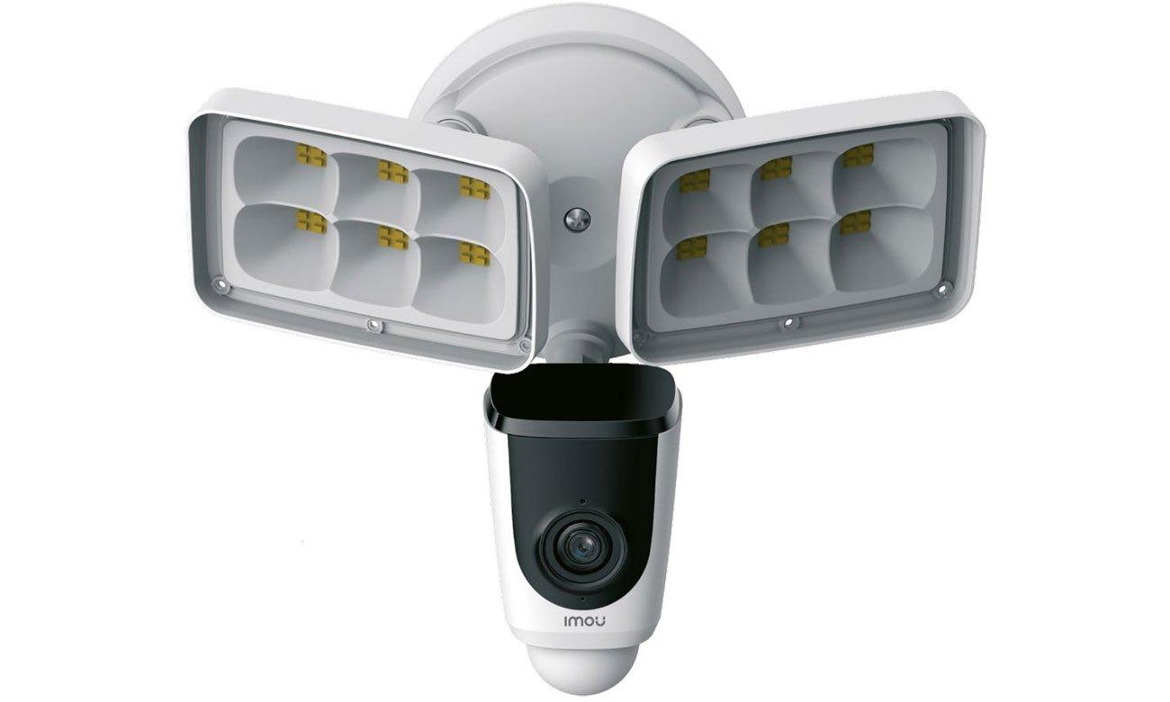 Inteligentna kamera Imou Floodlight L26P FullHD LED IR PIR Syrena 110dB