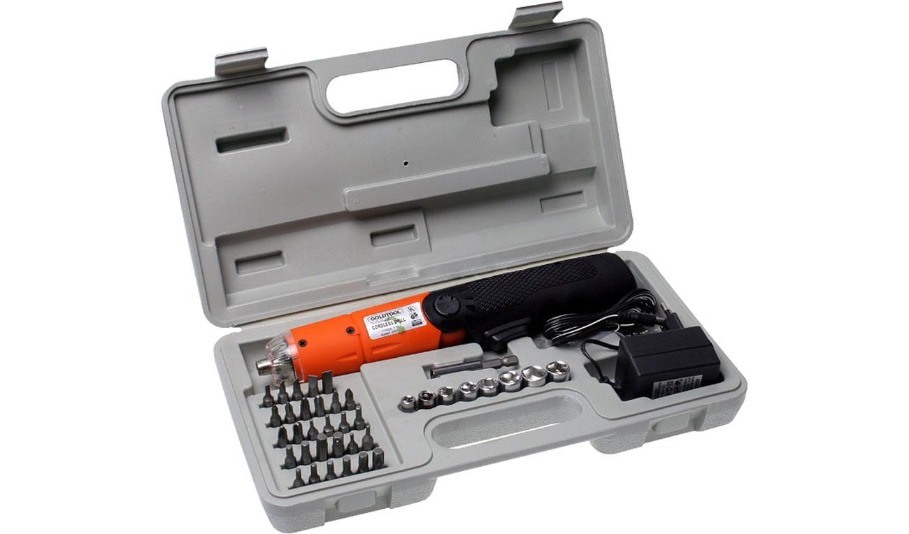 Narzędzia serwisowe In Line Śrubokręt (akumulator); 42-częściowy zestaw ZUWS-012/43024