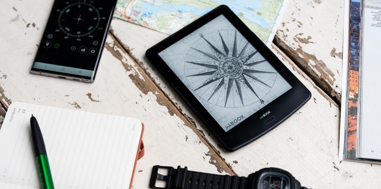inkBOOK prime hd kompaktowy czytnik e-book