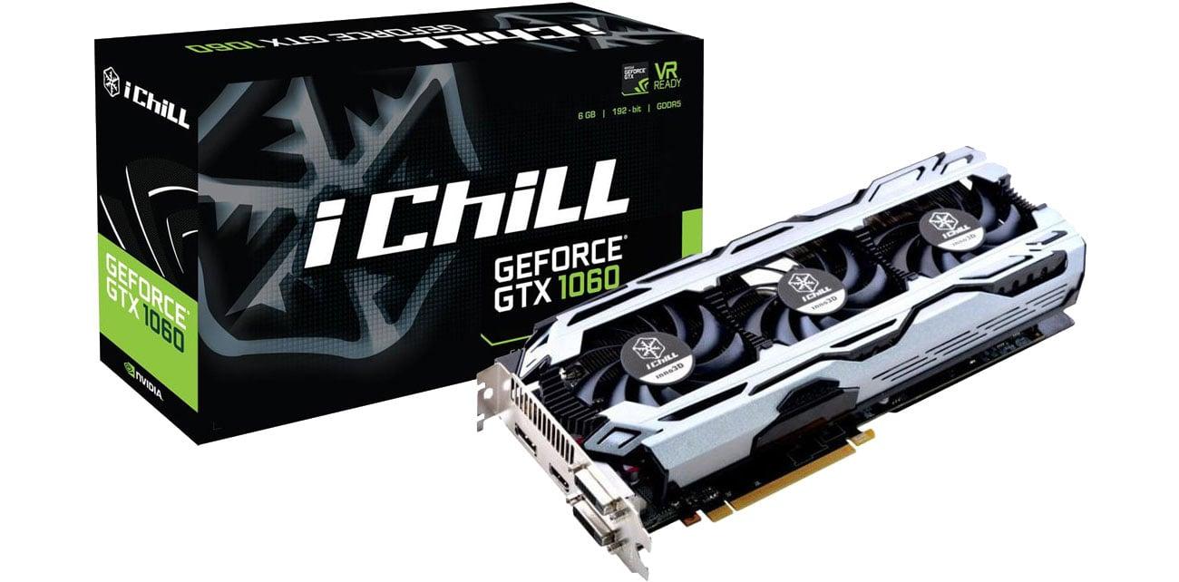 GeForce GTX 1060 IChill X3 V2 6GB GDDR5