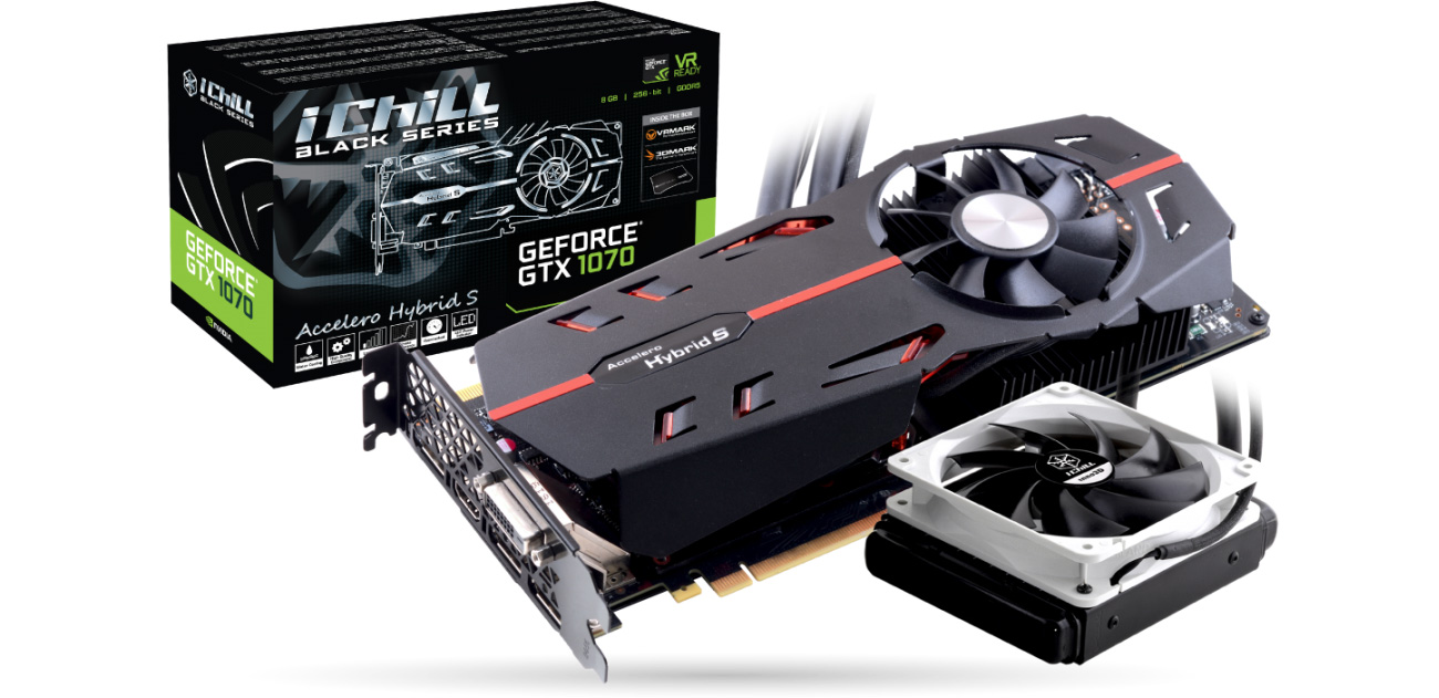 Inno3D GeForce GTX 1070 IChill BLACK